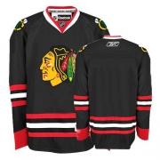Blank Jersey Reebok Chicago Blackhawks Authentic Black Man NHL Jersey