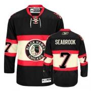Brent Seabrook Jersey Reebok Chicago Blackhawks 7 Premier Black New Third Man NHL Jersey