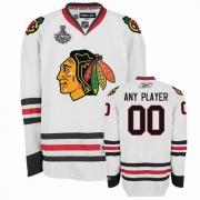 Customized Jersey Reebok Chicago Blackhawks White Road Authentic Man NHL Jersey