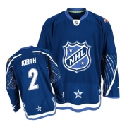 Duncan Keith Jersey Reebok Chicago Blackhawks 2 Authentic Dark Blue NHL Jersey
