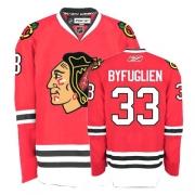 Dustin Byfuglien Jersey Youth Reebok Chicago Blackhawks 33 Premier Red Home NHL Jersey