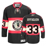 Dustin Byfuglien Jersey Youth Reebok Chicago Blackhawks 33 Premier Black New Third NHL Jersey