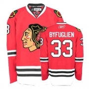 Dustin Byfuglien Jersey Youth Reebok Chicago Blackhawks 33 Authentic Red Home NHL Jersey