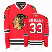 Dustin Byfuglien Jersey Reebok Chicago Blackhawks 33 Authentic Red Home Man NHL Jersey