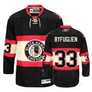 Dustin Byfuglien Jersey Reebok Chicago Blackhawks 33 Authentic Black New Third Man NHL Jersey