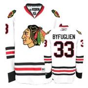 Dustin Byfuglien Jersey Reebok Chicago Blackhawks 33 Authentic White Man NHL Jersey