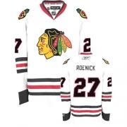 Jeremy Roenick Jersey Reebok Chicago Blackhawks 27 Premier White Man NHL Jersey