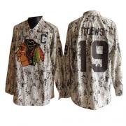 Jonathan Toews Jersey Reebok Chicago Blackhawks 19 Camouflage Premier NHL Jersey