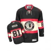 Marian Hossa Jersey Youth Reebok Chicago Blackhawks 81 Premier Black New Third NHL Jersey