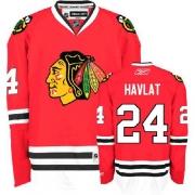 Martin Havlat Jersey Reebok Chicago Blackhawks 24 Premier Red Man NHL Jersey