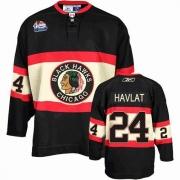 Martin Havlat Jersey Reebok Chicago Blackhawks 24 Premier Black New Third Man NHL Jersey
