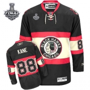 Patrick Kane Jersey Youth Reebok Chicago Blackhawks 88 Authentic Black New Third With 2013 Stanley Cup Finals NHL Jersey