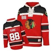 Patrick Kane Jersey Reebok Chicago Blackhawks 88 Red Sawyer Hooded Sweatshirt Premier NHL Jersey
