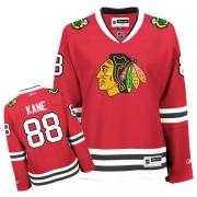 Patrick Kane Jersey Reebok Chicago Blackhawks 88 Red Women Home Authentic NHL Jersey