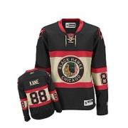 Patrick Kane Jersey Reebok Chicago Blackhawks 88 Black Womens New Third Authentic NHL Jersey