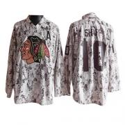 Patrick Sharp Jersey Reebok Chicago Blackhawks 10 Camouflage Premier NHL Jersey