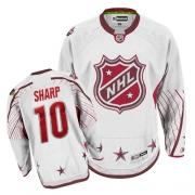 Patrick Sharp Jersey Reebok Chicago Blackhawks 10 Authentic White NHL Jersey