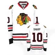 Patrick Sharp Jersey Reebok Chicago Blackhawks 10 Premier White Man NHL Jersey