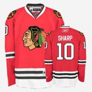 Patrick Sharp Jersey Youth Reebok Chicago Blackhawks 10 Authentic Red Home NHL Jersey