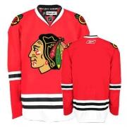 Blank Jersey Reebok Chicago Blackhawks Premier Red Home Man NHL Jersey